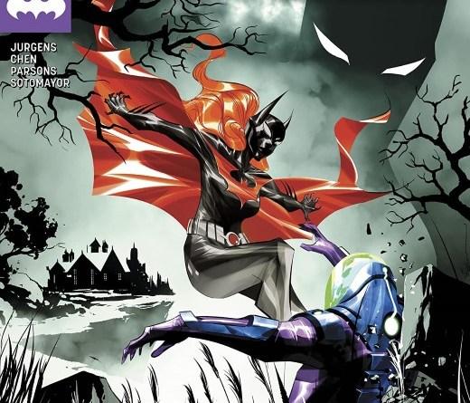Batman Beyond #42 cover by Dustin Nguyen