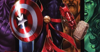 Captain Marvel #16 cover by Mark Brooks