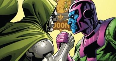 Doctor Doom #6 cover by Salvador Larroca and Guru-eFX
