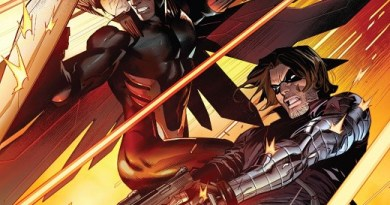 Falcon and Winter Soldier #1 cover by Dan Mora and David Curiel