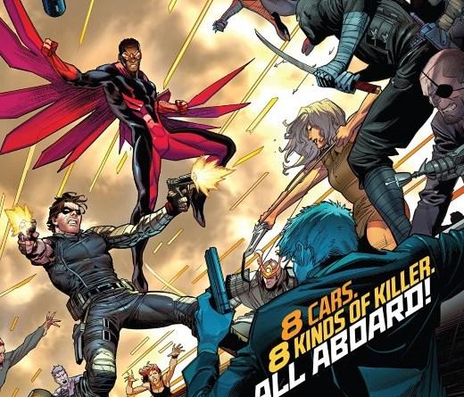 Falcon & Winter Soldier #2 cover by Dan Mora