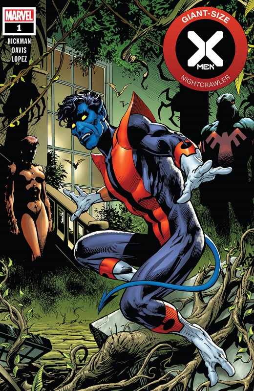 Giant-Size X-Men: Nightcrawler #1 cover by Alan Davis and Edgar Delgado