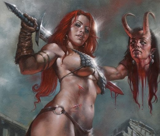Red Sonja: Age of Chaos #3 cover by Lucio Parillo