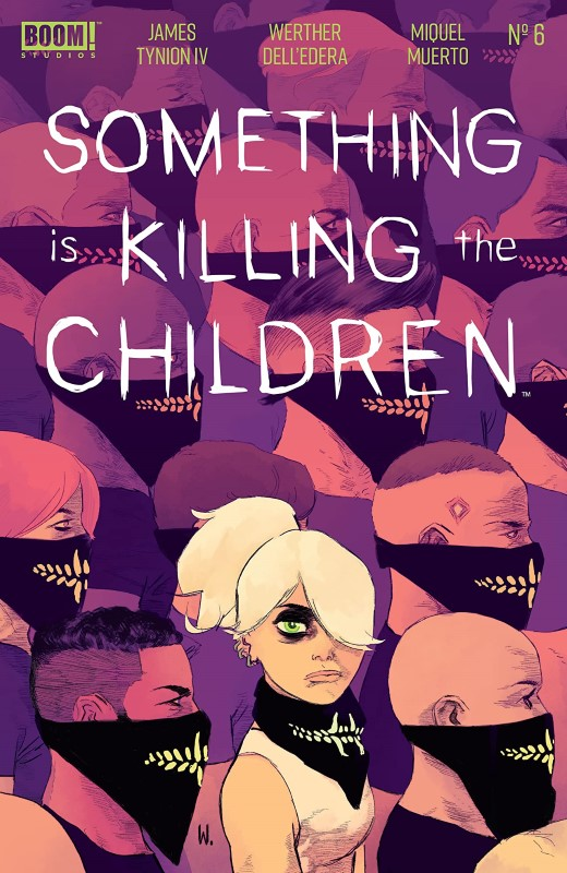Something is Killing the Children #6 cover by Werther Dell'Edera and Miquel Muerto