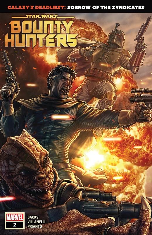 Star Wars: Bounty Hunters #2 cover by Lee Bermejo