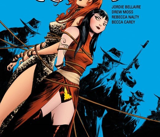 Vampirella/Red Sonja #7 cover by Jae Lee and June Chung
