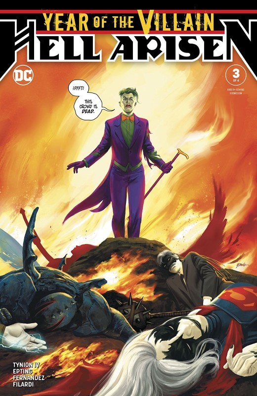 Year of the Villain: Hell Arisen #3 cover by Steve Epting