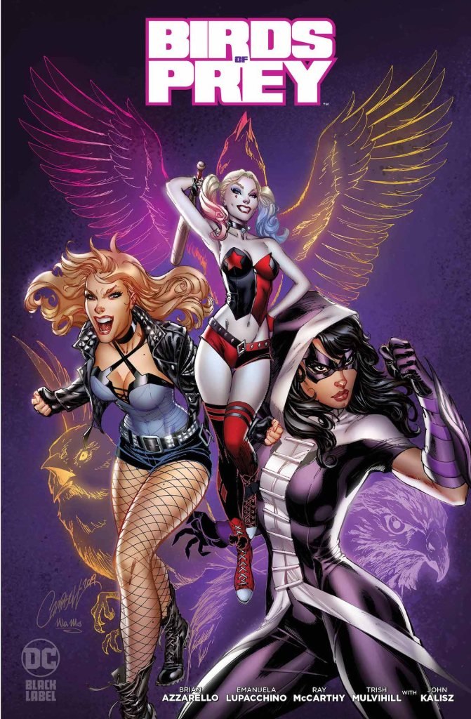 Preview Birds Of Prey Get The Hardboiled Dc Black Label Treatment Comicon