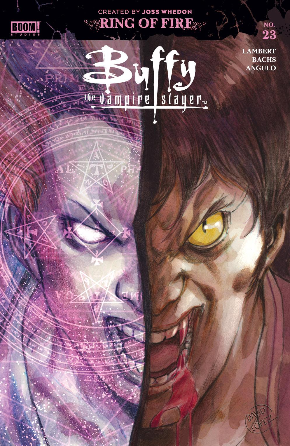 Spoilers BOOM!'s Buffy The Vampire Slayer # 23