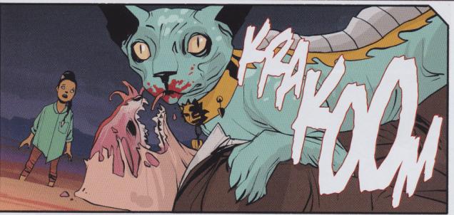 Saga #9 - Lying Cat eats