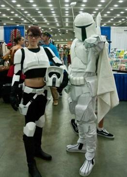 Storm Trooper and Boba Fett
