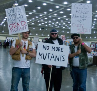 Mutant Protesters