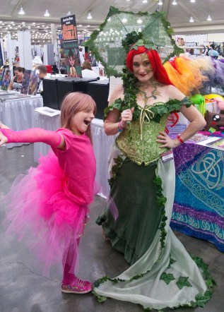 Poison Ivy and Daughter