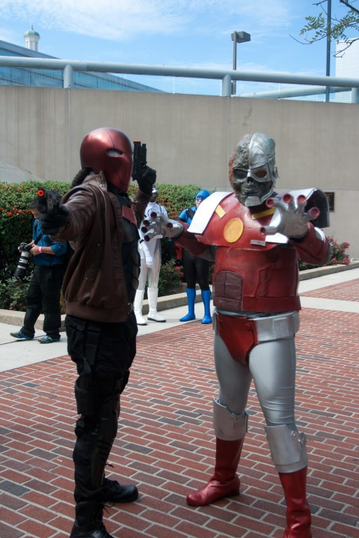 Red Hood and Cyborg