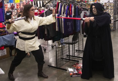 I sense a disturbance in the force!