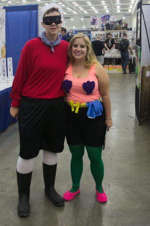 Barnacle Boy and Mermaid Man!