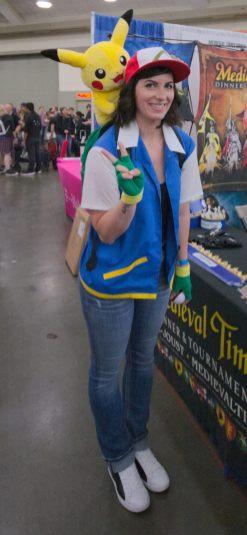 Ash and Pikachu!