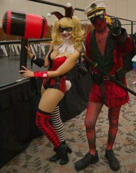 Harley and Deadpool