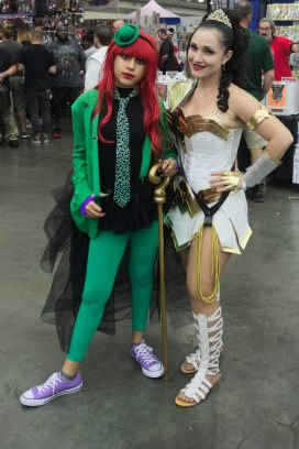 Poison Ivy and Wonder Woman