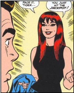 mary jane watson comic book