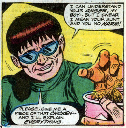 Funny Comic Book Panels Doctor Octopus Spider-Man
