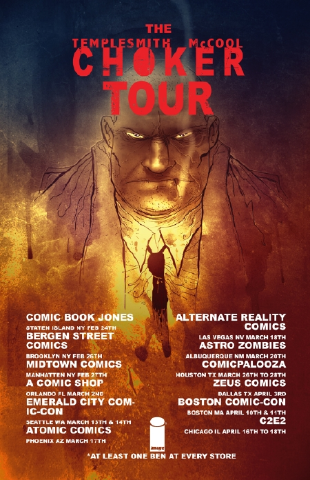 choker tour dates mccool templesmith