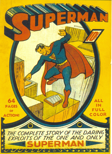 Superman #1 shuster