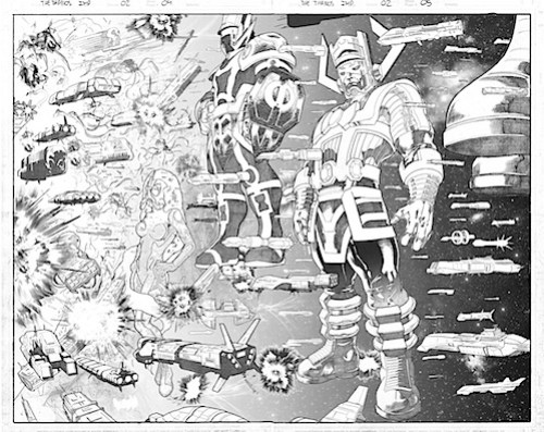 the thanos imp. 02 page 04- 05 pencils_2
