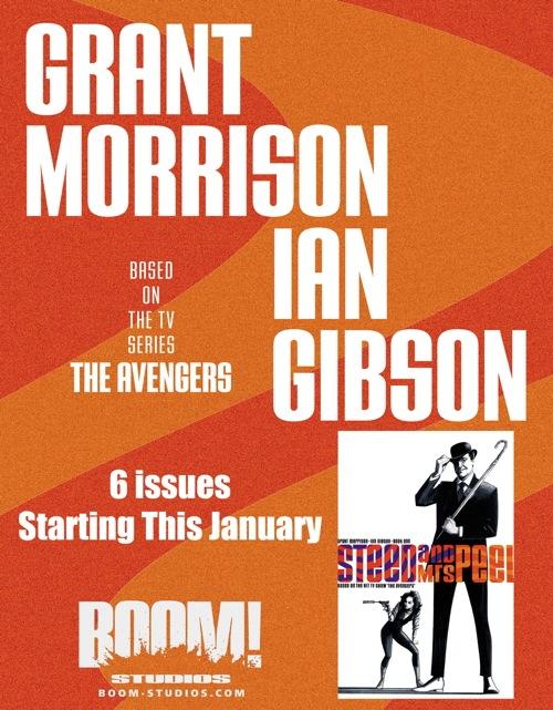 SteedMsPeel VPR Boom teases Grant Morrison on the Avengers    UPDATE