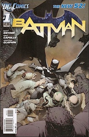Batman #1 new 52