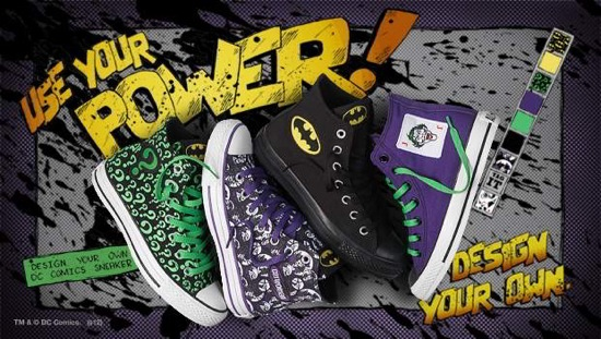 lanzador Gobernable Guardia  Shoe alert! Design your own DC-themed All-Stars with Converse - The Beat
