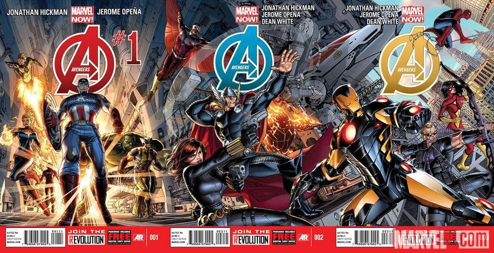 Marvel Reveal Jonathan Hickman's Avengers Lineup - The Beat
