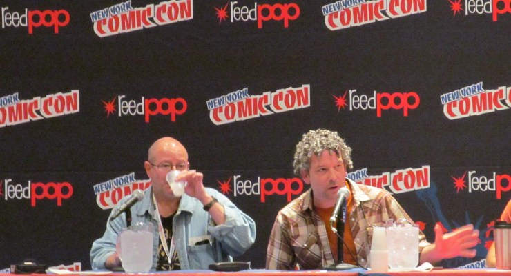 On the Scene: NYCC 2012 Day Three: Mike Mignola in Hell