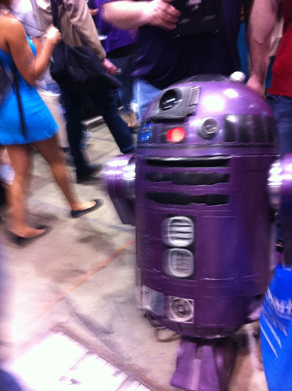 Everyone loves a purple droid.