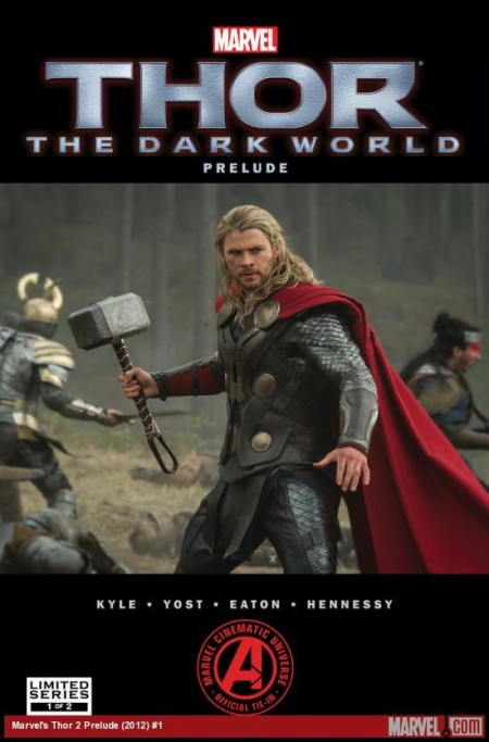 Thor The Dark World Prelude Preview Comic Book cover