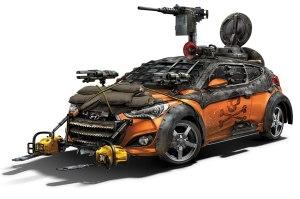 Hyundai-Veloster-Zombie-Survival-Machine-Walking-Dead