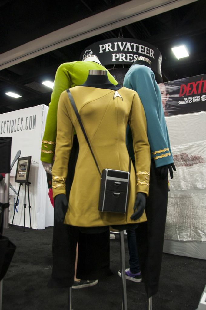 SDCC, SDCC2013, San Diego Comic Con, Star Trek TOS Costumes