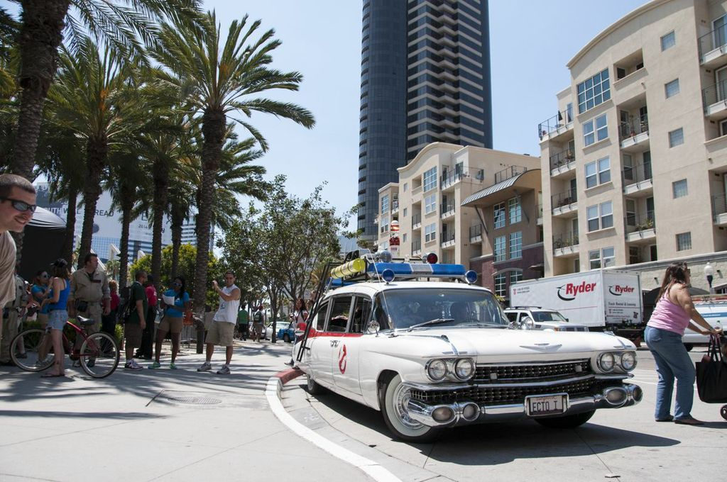 SDCC, SDCC2013, San Diego Comic Con, Ghostbusters car, who you gonna call?