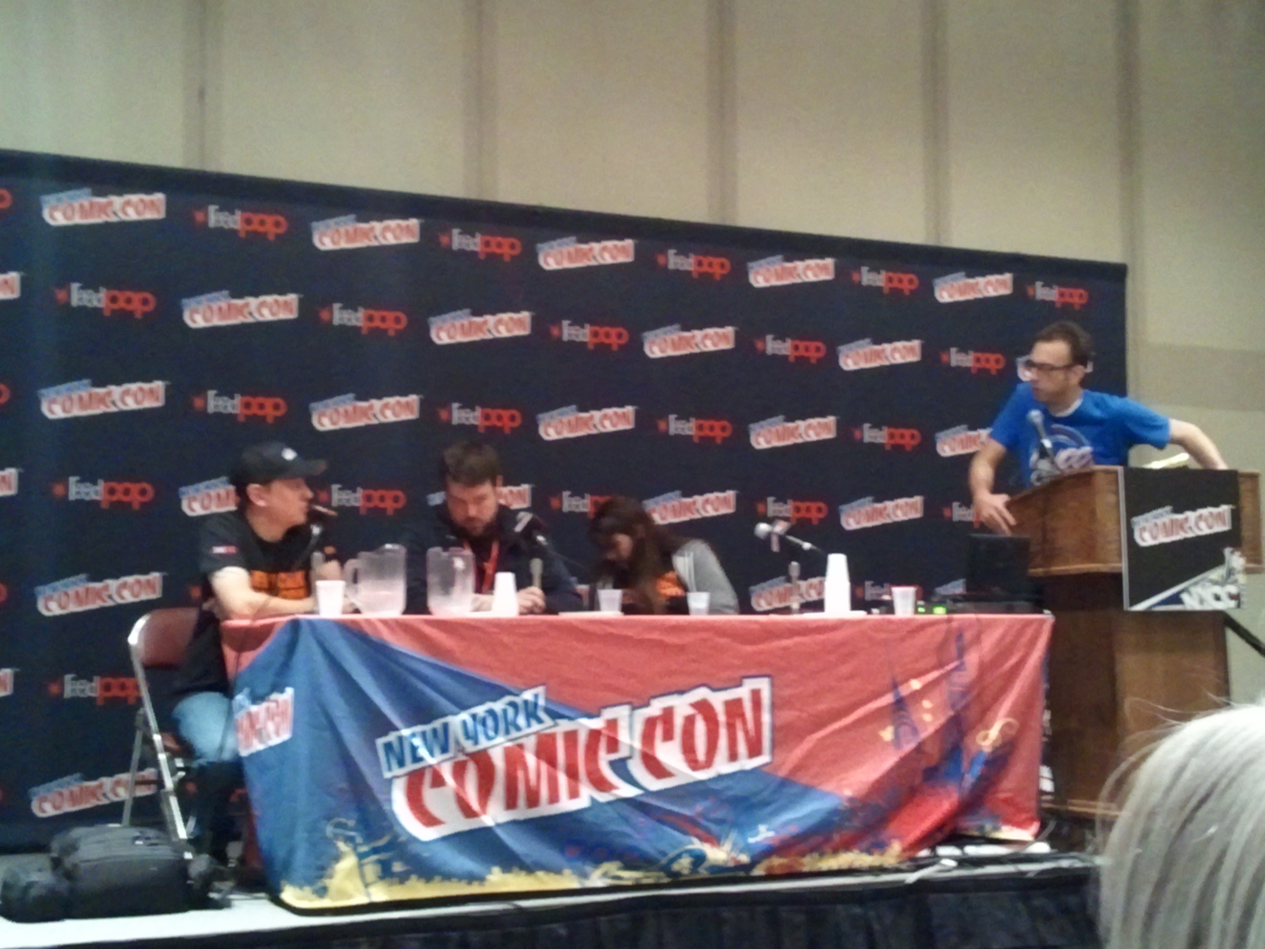 Nycc 13 Nycc Team Q Amp A Answers Questions On Badges Crowding More