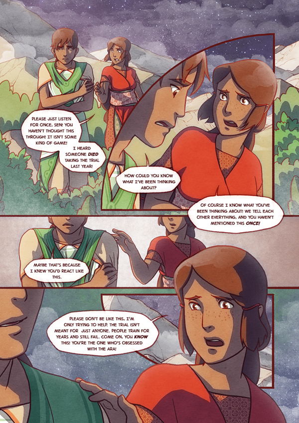 The Firelight Isle Page2