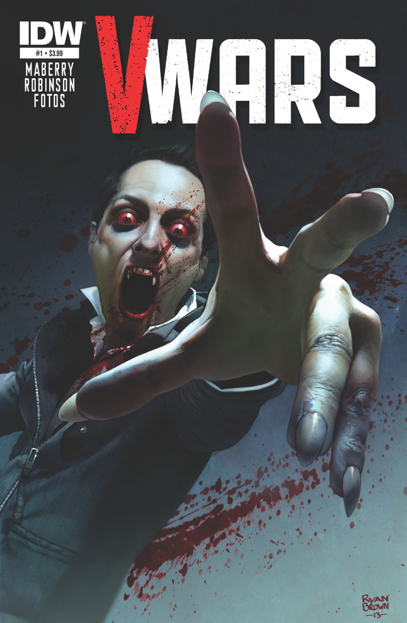 V Wars, coming from IDW this Spring.