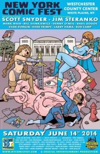 New York Comic Fest Poster 2014