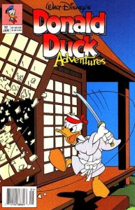 Donald Duck Adventures #32. Walt Disney Publications. Art by Stan Sakai.