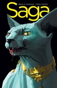 Saga #18. Image Comics. Art by Fiona Staples.