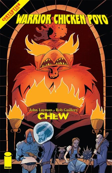 Chew: Warrior Chicken Poyo #1 SDCC 2014