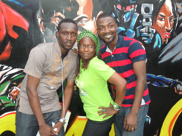 Attendees at the 2013 Lagos Comic Con