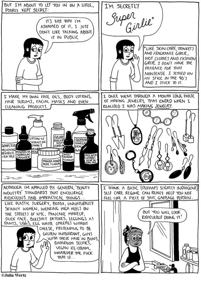 new julia wertz mini comic