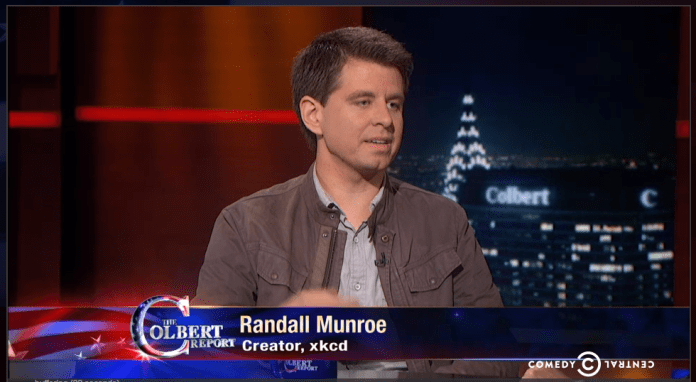Randall Munroe   Randall Munroe   The Colbert Report   Video Clip   Comedy Central