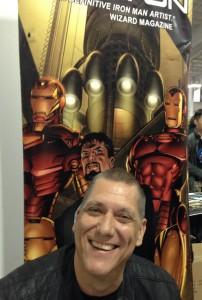 Iron Man artist Bob Layton