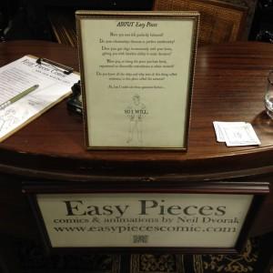 Easy Pieces by Neil Dvorak